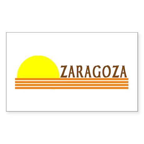 Zaragoza, Spain Rectangle Sticker