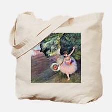 Edgar Degas Dancer With Flowers Tote Bag