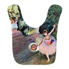 Edgar Degas Dancer With Flowers Bib