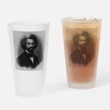 Frederick Douglass Drinking Glass