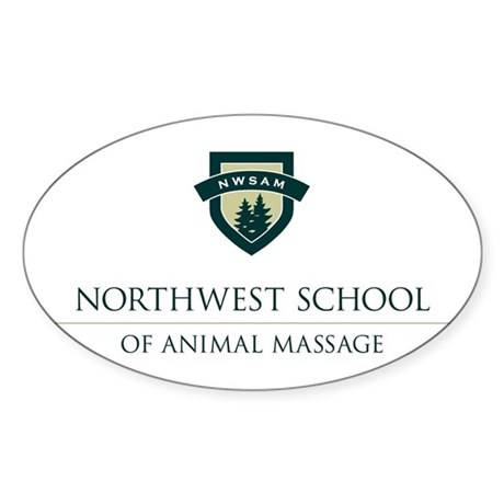 NWSAM Oval Sticker