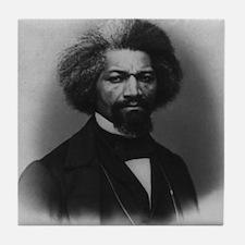 Frederick Douglass Tile Coaster