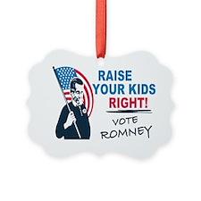 I Vote Mitt Ornament