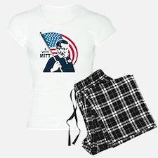 I Vote Mitt Pajamas