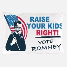 I Vote Mitt Pillow Case