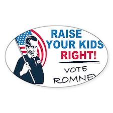 I Vote Mitt Decal