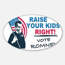 I Vote Mitt Decal