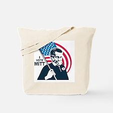 I Vote Mitt Tote Bag
