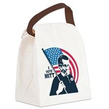 I Vote Mitt Canvas Lunch Bag