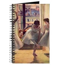 Edgar Degas Three Dancers In A Practice Ro Journal