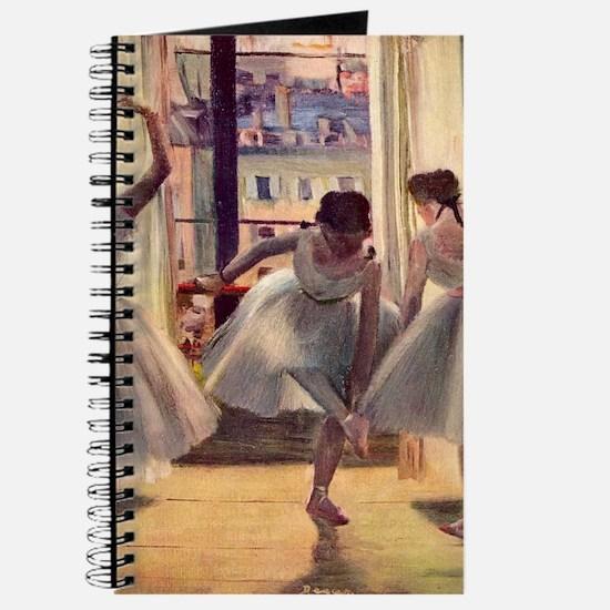 Edgar Degas Three Dancers In A Practice Ro Journal