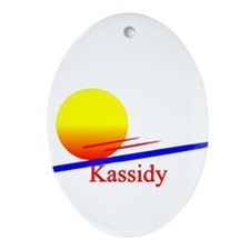 Kassidy Oval Ornament