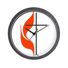 Unique Methodist Wall Clock