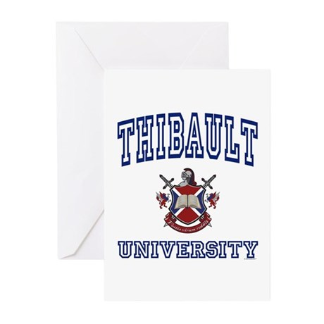 THIBAULT University Greeting Cards (Pk of 10)