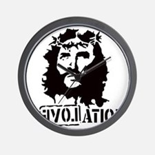 Jesus Christ Revolation Wall Clock