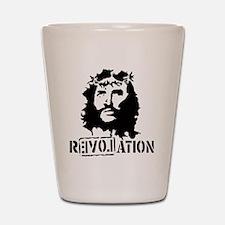 Jesus Christ Revolation Shot Glass