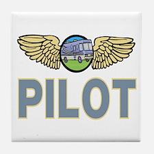 RV Pilot Tile Coaster