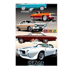 1960s Muscle Cars Postcards (Package of 8)