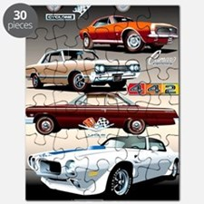 1960s Muscle Cars Puzzle