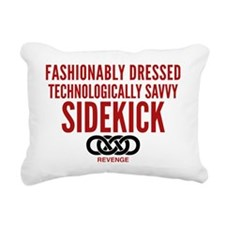 Revenge Nolan Sidekick Q Rectangular Canvas Pillow