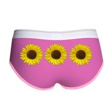Sunflowers Women's Boy Brief