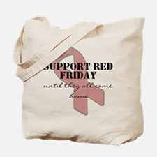 Cool Red fridays Tote Bag