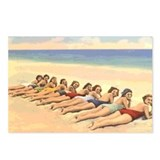Vintage beach Postcards