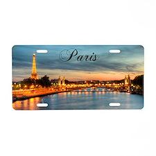 Paris_5x3_PontAlexandre-III Aluminum License Plate