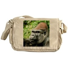 Earnie Silverback gorilla looking fo Messenger Bag