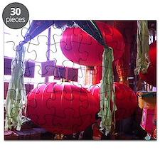Chinese lanterns Puzzle