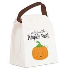 Fresh from the Pumpkin Patch Canvas Lunch Bag