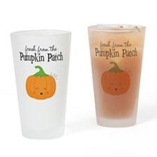 Fresh from the Pumpkin Patch Drinking Glass