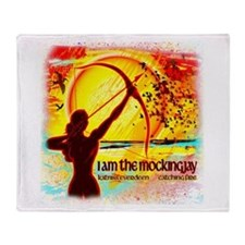Dreams of Katniss Throw Blanket