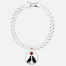 Kiss thinking Doves - Tw Bracelet