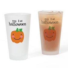 My First Halloween Drinking Glass