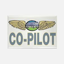 RV Co-Pilot Rectangle Magnet