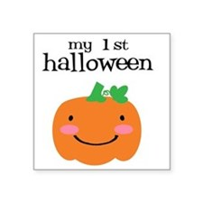 "My First Halloween Square Sticker 3"" x 3"""