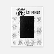US Route 101 California Cities Picture Frame