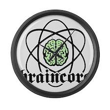 Atomic nucleus Braincore Large Wall Clock