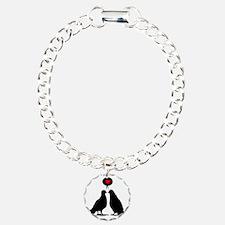 Love saying Doves - Two  Bracelet
