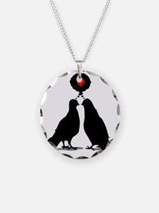Love thinking Doves - Two Va Necklace