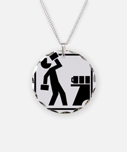 Drinking Pictogram Necklace