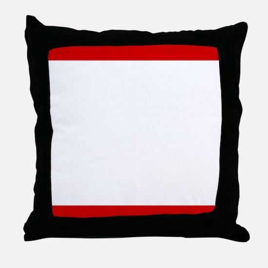 Ride BMC Throw Pillow