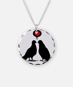 Love saying Doves - Two Vale Necklace