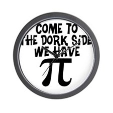 Dork Side Wall Clock