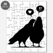 Love me Doves - Two Valentine Birds 1 Puzzle
