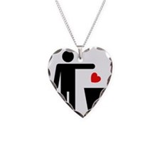 Trash Heart Man Necklace