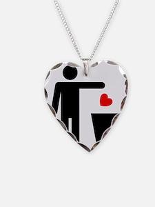 Trash Heart Man Necklace