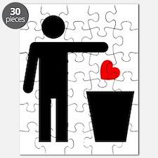 Trash Heart Man Puzzle