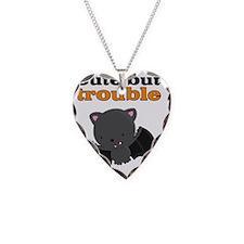 Bat Cute But Trouble Necklace